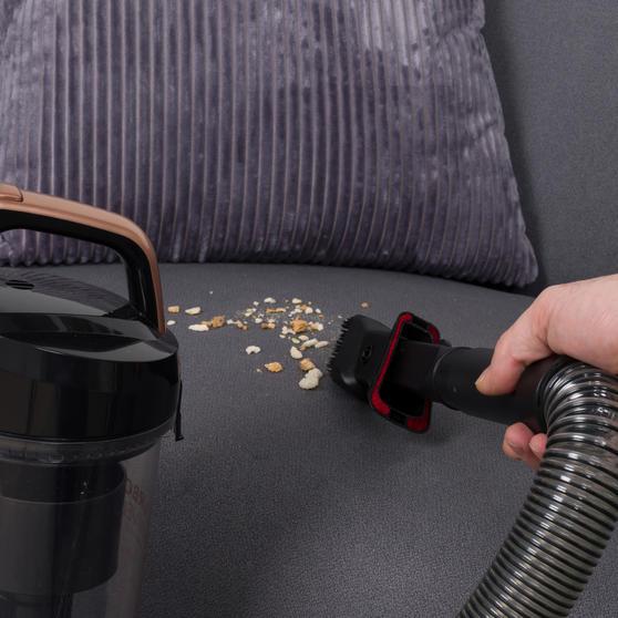 Turbo Swivel Vacuum Cleaner, Rose Gold Thumbnail 6