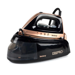Beldray BEL0775NRG Steam Surge Pro Iron with Vertical Steaming, 1.2 L, 2400 W, Rose Gold