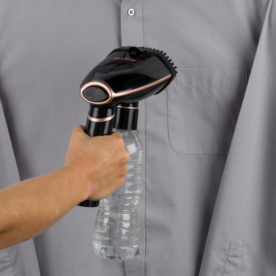 1600 W Handheld Travel Garment Steamer, Rose Gold Thumbnail 4