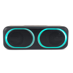 Intempo EE4874BLKSTKUK Tempo Wireless LED Bluetooth Speaker for iPhone, Android and Other Smart USB Devices, 10 W, Up to 25 m Bluetooth Range with Micro USB Charging Cable Thumbnail 3