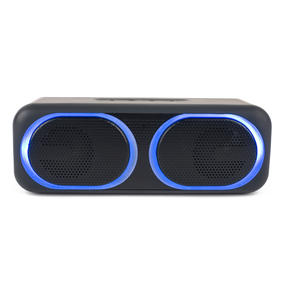 Intempo EE4874BLKSTKUK Tempo Wireless LED Bluetooth Speaker for iPhone, Android and Other Smart USB Devices, 10 W, Up to 25 m Bluetooth Range with Micro USB Charging Cable Thumbnail 5