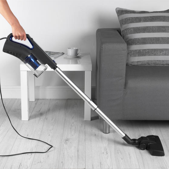 Beldray® BEL0947 AIRGLIDE 2-in-1 Corded Stick & Handheld Vacuum Cleaner | Cyclonic System | 400 W | 0.5 L Dust Tank | 5 Metre Power Cord | Accessories Included Thumbnail 3
