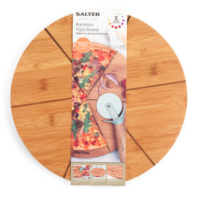 Six Slice Bamboo Pizza Serving Board, 12 Inches/30 cm Thumbnail 10