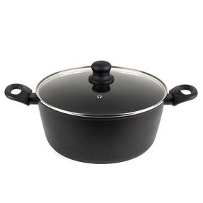 Progress Non-Stick Diamond Stock Pot, 28 cm
