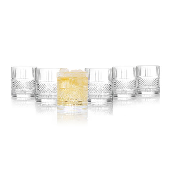 RCR 26720020006 Brillante Tumblers, 337 ml, Set of 6
