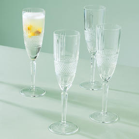 RCR 26968020006 Brillante Champagne Flutes, 185 ml, Set of 6 Thumbnail 3