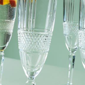 RCR 26968020006 Brillante Champagne Flutes, 185 ml, Set of 6 Thumbnail 4