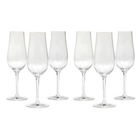Schott Zwiesel, 118255 Concerto Champagne Flute, 302 ml, Set of 6