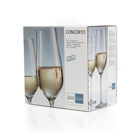 Schott Zwiesel, 118255 Concerto Champagne Flute, 302 ml, Set of 6 Thumbnail 5