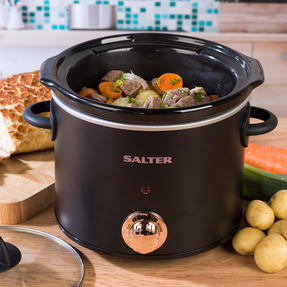 Rose Gold Slow Cooker with Three Heat Settings, 3.5 Litres Thumbnail 4