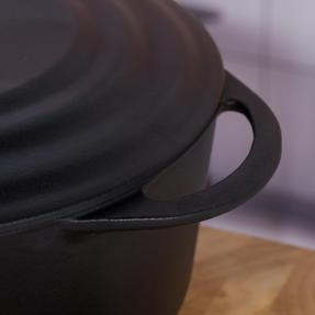 Vivo by Villeroy & Boch COMBO-5296 Casserole Pot, 4.2 Litres, 24 cm, Black, Set of 2 Thumbnail 5