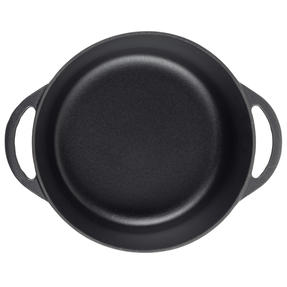 Vivo by Villeroy & Boch COMBO-5296 Casserole Pot, 4.2 Litres, 24 cm, Black, Set of 2 Thumbnail 7