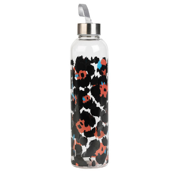 Cambridge CM06996 Pop Animal Glass Bottle, 750 ml, Reusable, Leak-proof