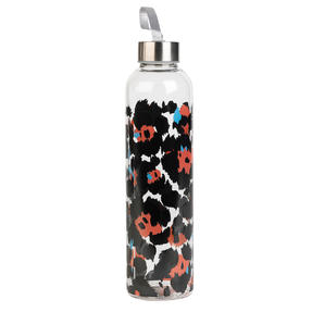 Cambridge CM06996 Pop Animal Glass Bottle, 750 ml, Reusable, Leak-proof Thumbnail 1