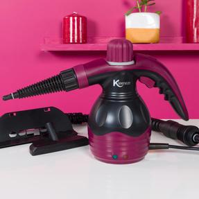 Kleeneze KL0573 10 in 1 Handheld Steam Cleaner, 1100 W, 250 ml Tank Capacity Thumbnail 6