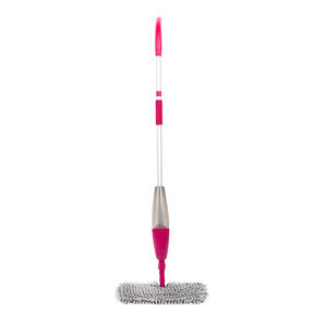 Double Sided Flexi Spray Mop, Grey/Pink