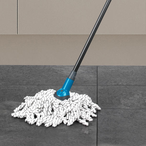 Beldray Click and Connect Cleaning Set with Microfibre Mop, Chenille Mop and Duster Thumbnail 3