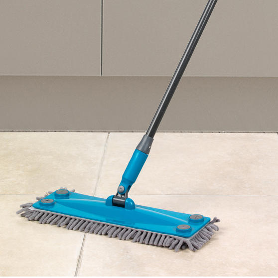 Beldray Click and Connect Cleaning Set with Microfibre Mop, Chenille Mop and Duster Thumbnail 5
