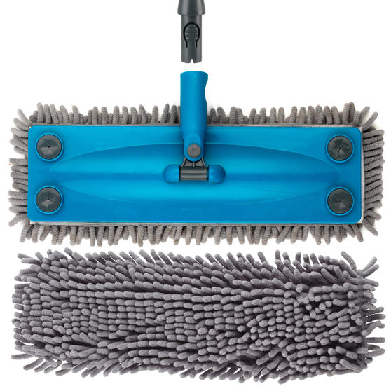Beldray Click and Connect Cleaning Set with Microfibre Mop, Chenille Mop and Duster Thumbnail 8