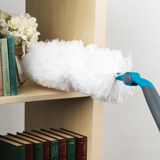 Beldray Click and Connect Set with Two Duster Heads and Chenille Floor Mop Thumbnail 2