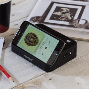 Intempo COMBO-5466 Harmony Portable Bluetooth Fabric Speaker with Folding Clarity Headphones Thumbnail 7