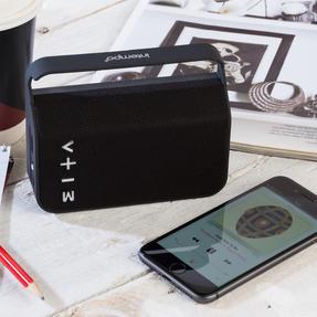 Intempo COMBO-5466 Harmony Portable Bluetooth Fabric Speaker with Folding Clarity Headphones Thumbnail 8