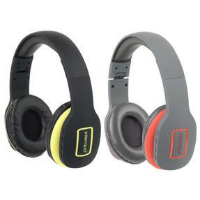 Intempo COMBO-5473 Active Wireless Bluetooth Folding Headphones, Multicolours, 2 Pairs