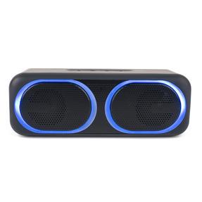 Intempo COMBO-5500 Folding Clarity Black Headphones with Wireless LED Bluetooth Speaker Thumbnail 9