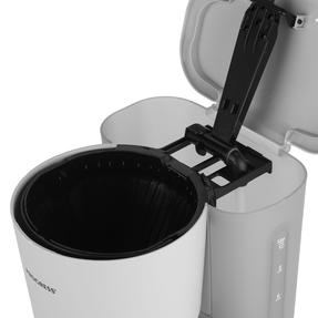 Progress EK3757PGRY Scandi Coffee Maker, 1080 W, 1.25 L, Grey Thumbnail 7
