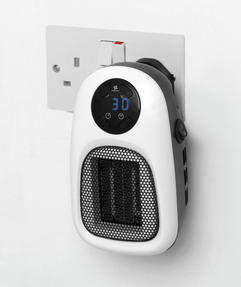 Beldray COMBO-3939 Compact Digital Plug-In Portable Heater with LED Display, 500 W, Set of 2 Thumbnail 4