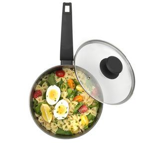 Salter COMBO-4834 Marble Gold Non-Stick Frying Pan, Saucepan and Wok Set, 7 Piece Thumbnail 6