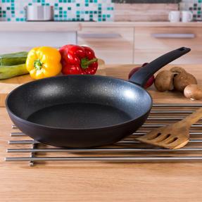 Salter COMBO-4847 Marble Gold Non-Stick Frying Pan and Wok Set, 20/24/28 cm, 4 Piece Thumbnail 6