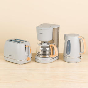 Progress COMBO-5151 Scandi Breakfast Appliance Set with 2-Slice Toaster, Coffee Maker and Jug Kettle, Grey Thumbnail 3