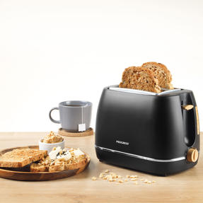 Progress COMBO-5153 Scandi Breakfast Appliance Set with 2-Slice Toaster and Coffee Maker, 870/1080 W, Black Thumbnail 4