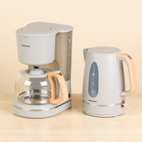 Progress COMBO-5155 Scandi Breakfast Appliance Set with 2-Slice Toaster and Jug Kettle, 870/3000 W, Grey Thumbnail 3