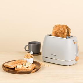 Progress COMBO-5156 Scandi Breakfast Appliance Set with 2-Slice Toaster and Coffee Maker, 870/1080 W, Grey Thumbnail 4