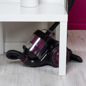 Kleeneze KL0700 Compact Cylinder Vacuum Cleaner, Black/Plum Thumbnail 10