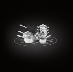 Russell Hobbs RH00166 Classic Collection Stainless Steel 8 Piece Pan Set