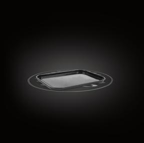 Russell Hobbs Romano Vitreous Enamel Baking Tray, 40 cm, Black Thumbnail 1