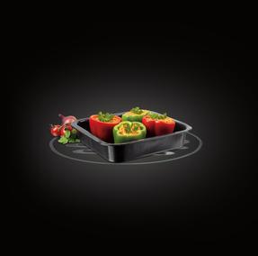 Russell Hobbs BW000751 Romano Vitreous Enamel Square Baking Pan, 26 cm, Black Thumbnail 1
