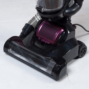 Kleeneze KL0995 Lightweight Upright Swivel Vacuum with 3 in 1 Crevice Tool, 2.5 Litre, 400 W, Purple/Black Thumbnail 3