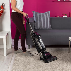 Kleeneze KL0995 Lightweight Upright Swivel Vacuum with 3 in 1 Crevice Tool, 2.5 Litre, 400 W, Purple/Black Thumbnail 6