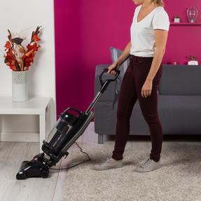 Kleeneze KL0995 Lightweight Upright Swivel Vacuum with 3 in 1 Crevice Tool, 2.5 Litre, 400 W, Purple/Black Thumbnail 7