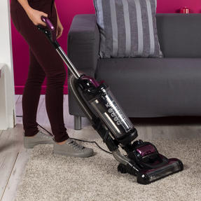 Kleeneze KL0995 Lightweight Upright Swivel Vacuum with 3 in 1 Crevice Tool, 2.5 Litre, 400 W, Purple/Black Thumbnail 8