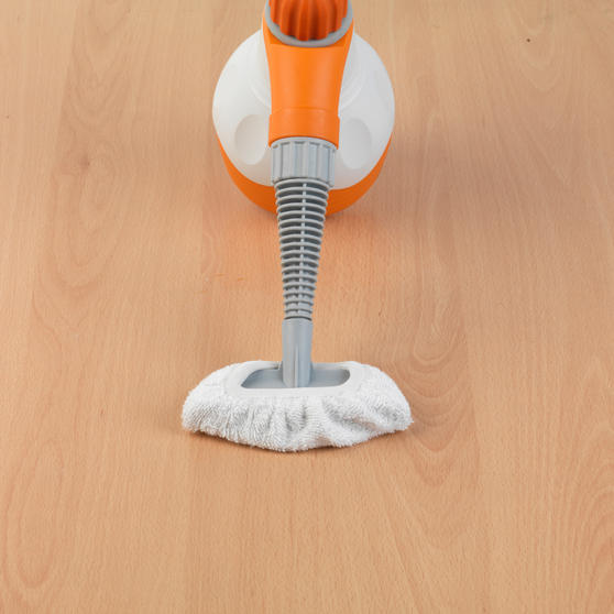 Beldray BEL0573FSFOB 10 in 1 Handheld Steam Cleaner, 1100 W, Orange/White Thumbnail 5
