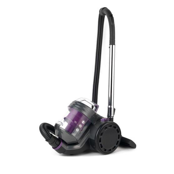 Beldray BEL0700PURWK Compact Vac Lite Cylinder Vacuum, 2 Litre, 700 W, Purple