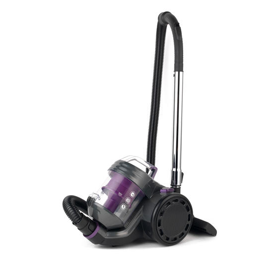 Beldray BEL0700PURWK Compact Vac Lite Cylinder Vacuum, 2 Litre, 700 W, Purple Thumbnail 1