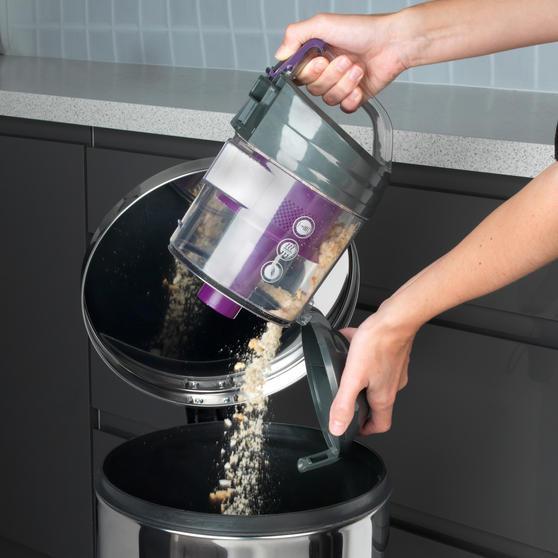 Beldray BEL0700PURWK Compact Vac Lite Cylinder Vacuum, 2 Litre, 700 W, Purple Thumbnail 2