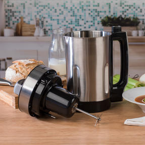 Salter COMBO-5661 Go Healthy Electric Soup Maker with Nylon Utensils and Chopping Boards, 1.6 Litre, 1050 W Thumbnail 2