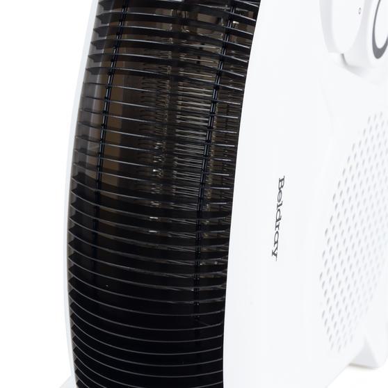 Beldray Flat Fan Heater, 1000/2000 W Settings, White, Set of 2 Thumbnail 7